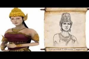 Dyah Gitarja Nama Kecil Ratu Tribhuwana Tunggadewi yang Turun Langsung Tumpas Pemberontakan Sedeng-Keta