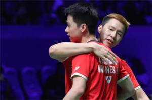 Kejutan! Marcus Absen di Final Piala Thomas 2020, Indonesia Mainkan Kevin/Daniel