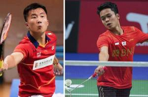 Utak-atik Peluang Anthony Ginting vs Lu Guang Zu di Final Piala Thomas 2020