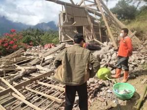1.862 Rumah Rusak Terdampak Gempa M4.8 di Karangasem Bali