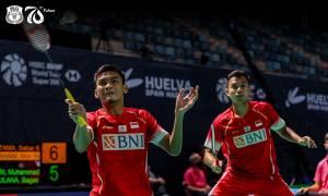 Menang Mudah, Fikri/Bagas Tembus 16 Besar Denmark Open 2021