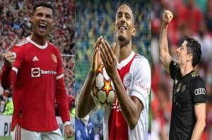 Top Skor Liga Champions: Ronaldo dan Lewandowski Usik Ketenangan Haller