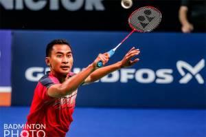Hasil Denmark Open 2021: Lawan Mundur, Tommy Sugiarto Tembus Semifinal