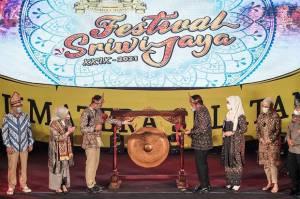 Sandiaga Uno Dorong Festival Sriwijaya Bisa Bertaraf Internasional