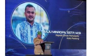 Raju Minropa Berharap Pelaku Ekraf di Padang Dapat Mengelola Manajemen dengan Baik