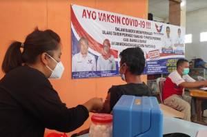 DPW Partai Perindo Babel Gelar Vaksinasi Massal, Masyarakat Sambut Antusias