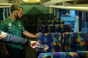 Innalillahi...Pria Paruh Baya Meninggal dalam Posisi Duduk di Bus Jurusan Bekasi-Pangandaran