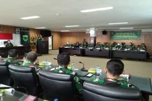 Kodam XVIII/Kasuari Gelar Sosialisasi Doktrin TNI AD Kartika Eka Paksi 2021