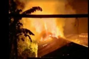 Kandang dan Ribuan Ayam Ludes Terbakar, Pemilik Rugi Capai Rp3 Miliar