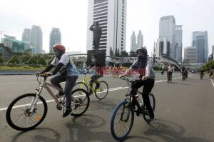 Hari Terakhir PSBB Transisi, Warga Jakarta Tetap Antusias Berolahraga