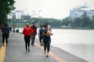 Tingkatkan Imun Tubuh, Warga Jakarta Rutin Berolahraga di Ruang Terbuka