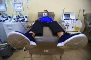 Donor Darah Plasma Konvalesen Penyintas Covid-19 di PMI DKI Jakarta