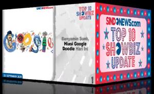 Top10 Showbiz Update 22 Sept 2020, Benyamin Hiasi Google Doodle