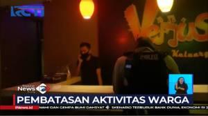 Tempat Karaoke di Depok Ditutup Paksa Petugas