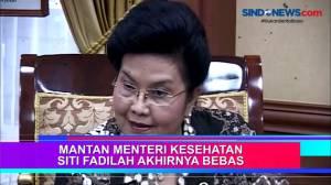 Mantan Menteri Kesehatan Siti Fadilah Akhirnya Bebas