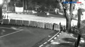 Aksi Koboi di Dekat Rumah Dinas Wakapolri Terekam CCTV