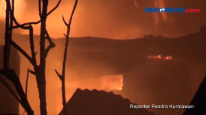 Tiga Rumah di Gandaria Utara Terbakar