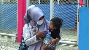 Ibu dan Bayi dapat Asimilasi Covid-19, Suasana Haru Warnai Lapas Meulaboh