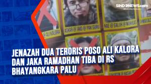 Jenazah dua teroris Poso Ali Kalora dan Jaka Ramadhan Tiba di RS Bhayangkara Palu