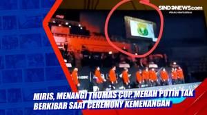 Miris, Menangi Thomas Cup, Merah Putih Tak Berkibar saat Ceremony Kemenangan