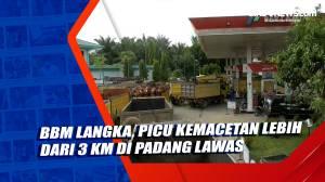BBM Langka, Picu Kemacetan Lebih dari 3 Km di Padang Lawas