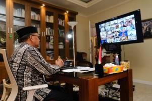 Halal Bihalal Tingkat Provinsi Sulsel Digelar Secara Virtual
