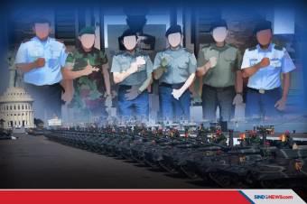 KSAD, KSAL dan KSAU Sama-sama Berpeluang Jabat Panglima TNI