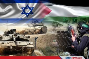 Serangan Balasan Pasukan Israel Ke Palestina Berlanjut