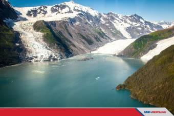 Es Alaska Diprediksi Picu Tsunami Setinggi Ratusan Meter
