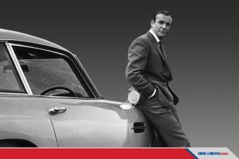 Aktor Pemeran James Bond Terbaik, Sean Connery Tutup Usia