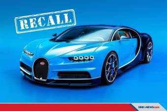 ESC Tidak Berfungsi Normal, Bugatti Chiron Kena Recall