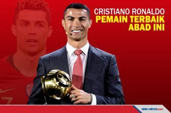 Cristiano Ronaldo Dinobatkan sebagai Pemain Terbaik Abad Ini