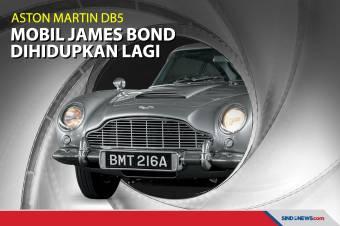 Mobil James Bond Aston Martin DB5 Dibanderol Rp50 Miliar!