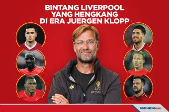 Enam Bintang Liverpool yang Hengkang di Era Juergen Klopp