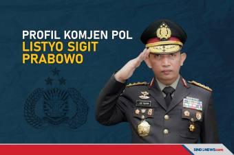 Profil Komjen Pol Listyo Sigit Prabowo