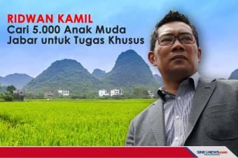Ridwan Kamil Cari 5.000 Anak Muda Jabar untuk Tugas Khusus