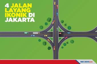 4 Jalan Layang Ikonik dan Instragamable di Jakarta