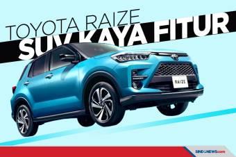 Kaya Fitur, Toyota Raize Segera Mengaspal di Tanah Air