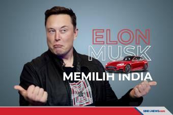 Elon Musk Memilih Bangun Pabrik di India Ketimbang di Indonesia