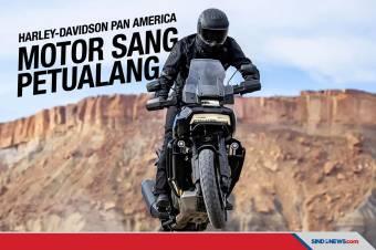 Harley-Davidson Pan America Incar Orang Kaya Gemar Berpetualang