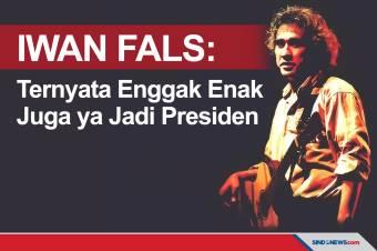 Jadi Presiden Ternyata Enggak Enak Juga ya, Komentar Iwan Fals