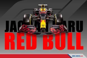 Keren Banget, Begini Tampilan Mobil Balap F1 Red Bull Racing 2021