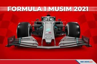 Resmi, Formula 1 Rilis Kalender Lengkap Musim 2021