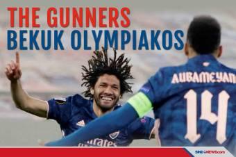 Bekuk Olympiakos, Arsenal Buka Jalan ke Perempat Final Liga Eropa