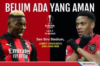 Preview AC Milan vs Manchester United: Belum Ada yang Aman