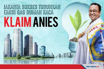 Jakarta Sukses Turunkan Emisi Gas Rumah Kaca, Klaim Anies