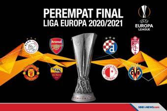 Hasil Drawing 8 Besar Liga Europa 2020/2021
