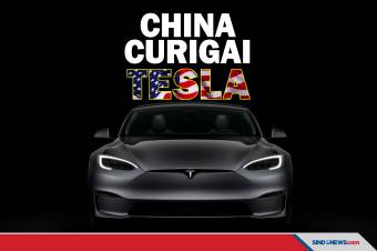 China Curiga Mobil Buatan Tesla Jadi Mata-mata