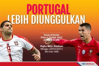 Bertandang ke Markas Serbia jadi Ujian Berat Portugal