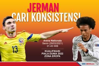 Preview Rumania vs Jerman: Cari Konsistensi di Bucharest